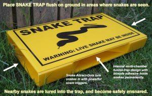 ловушка Humane Snake Trap by Snake Trap